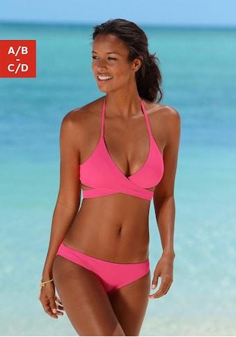 Bench. Triangel-Bikini, in Wickeloptik