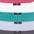 anthrazit + weiß + mint + flieder + pink