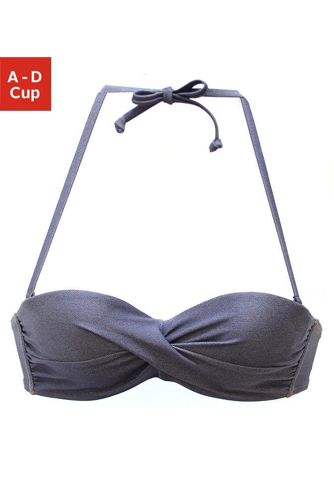 Sunseeker Bügel-Bandeau-Bikini-Top »Jeans«