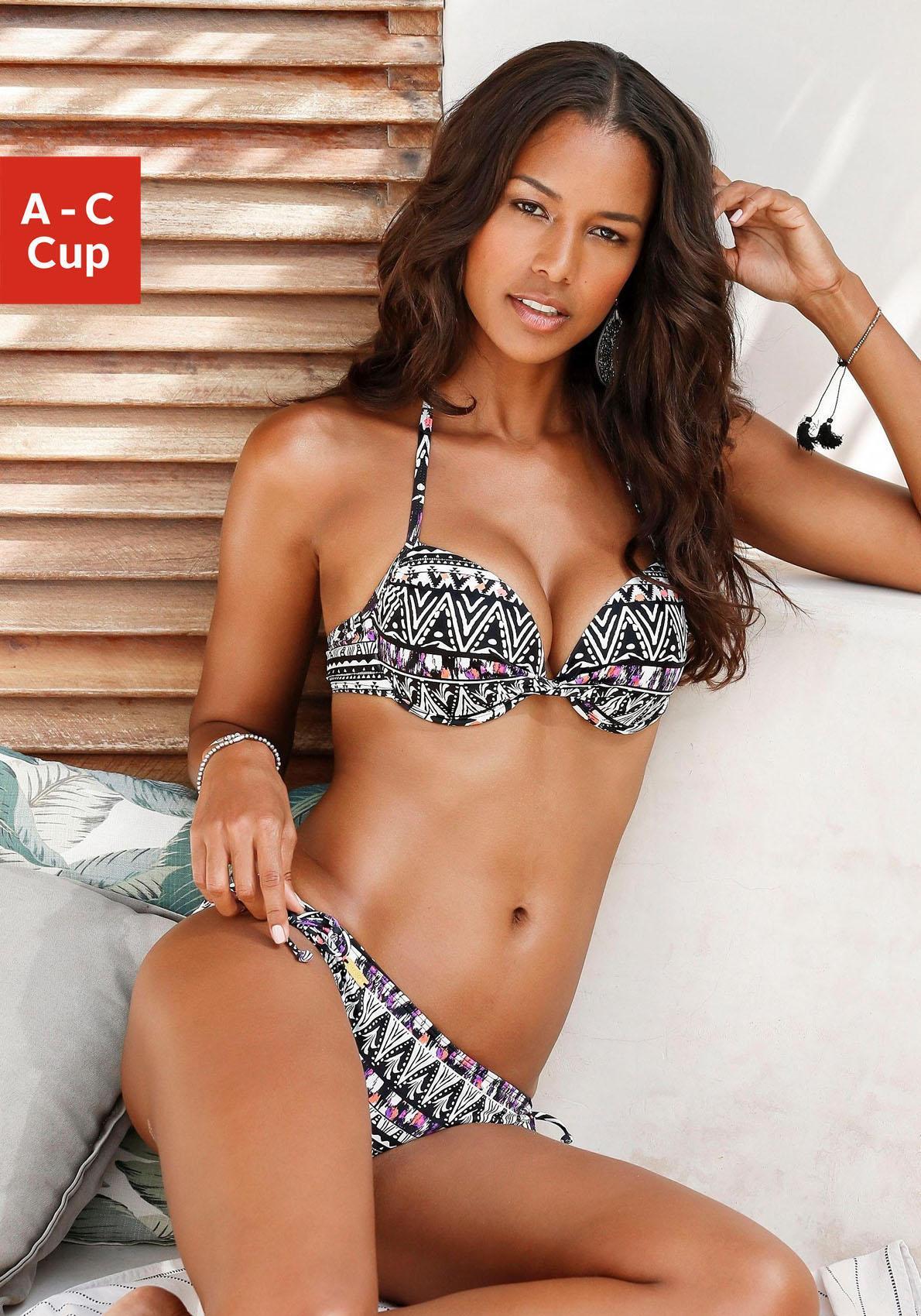 LASCANA Push-Up-Bikini-Top »Belize«