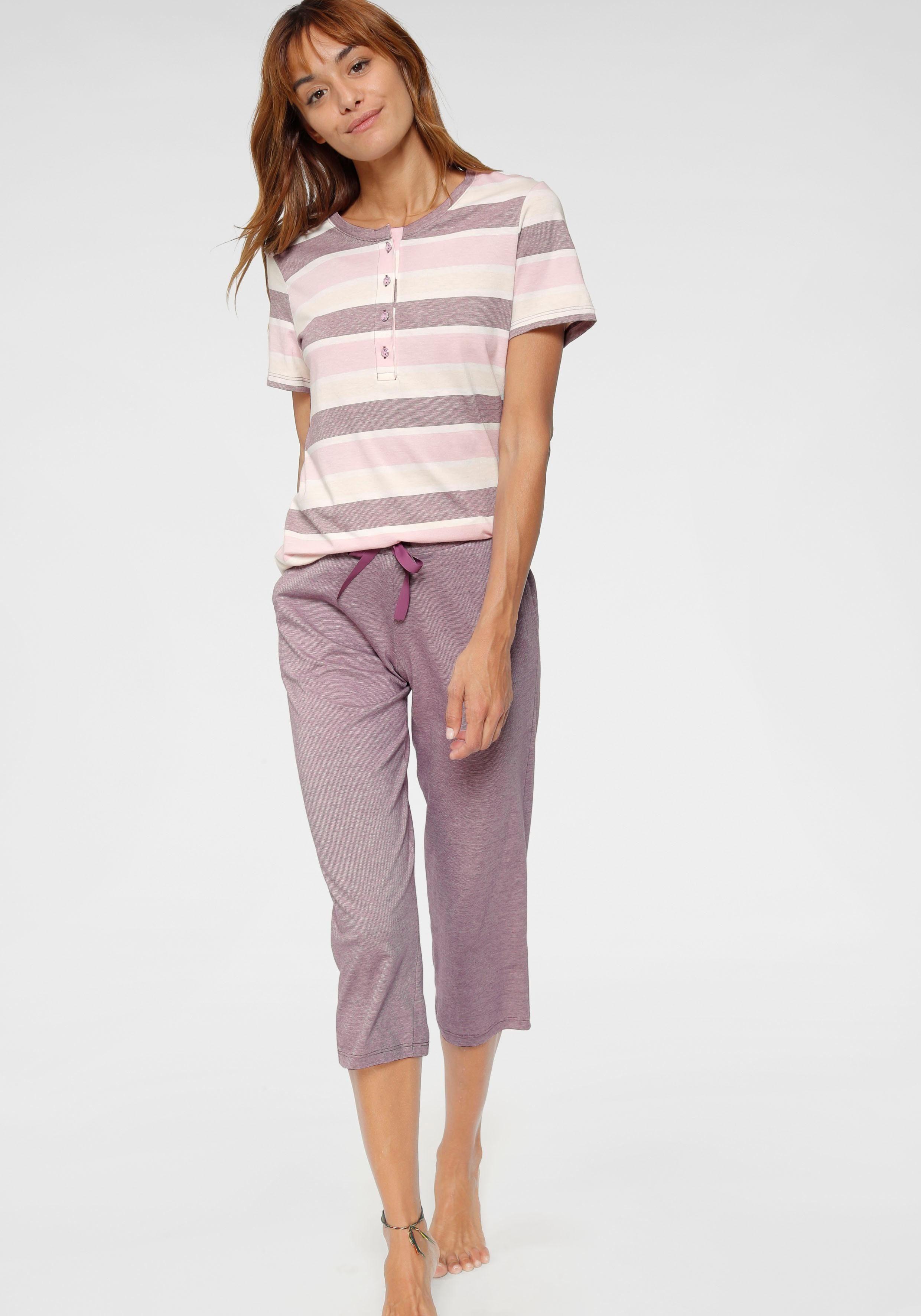 Schiesser Capri-Pyjama