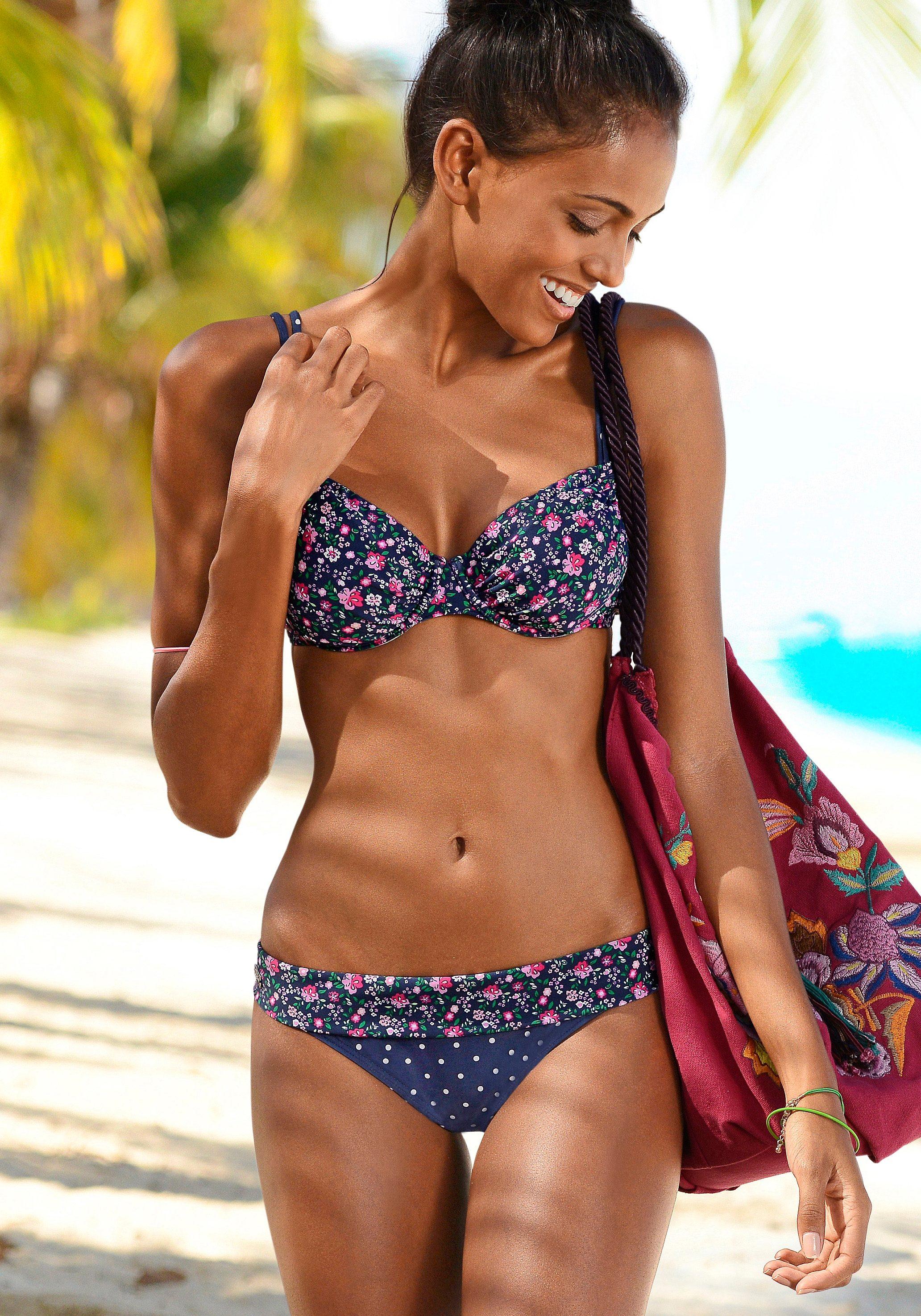 Buffalo Bikini-Hose »Evi« mit Umschlagbund