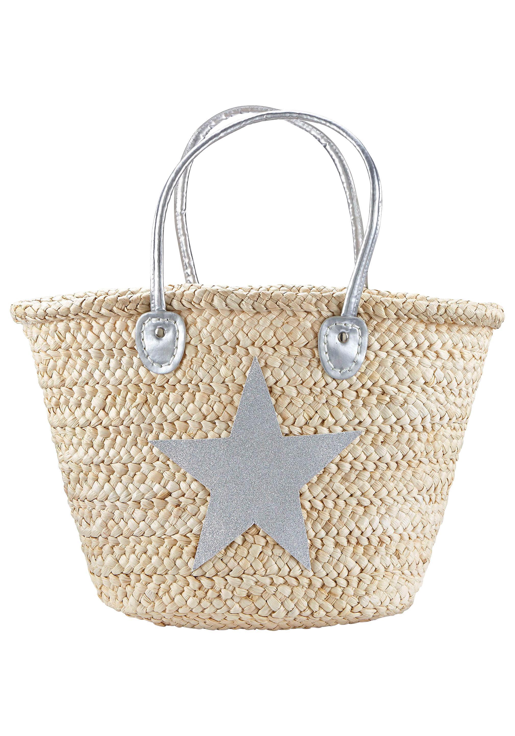 LASCANA Strandtasche mit Stern