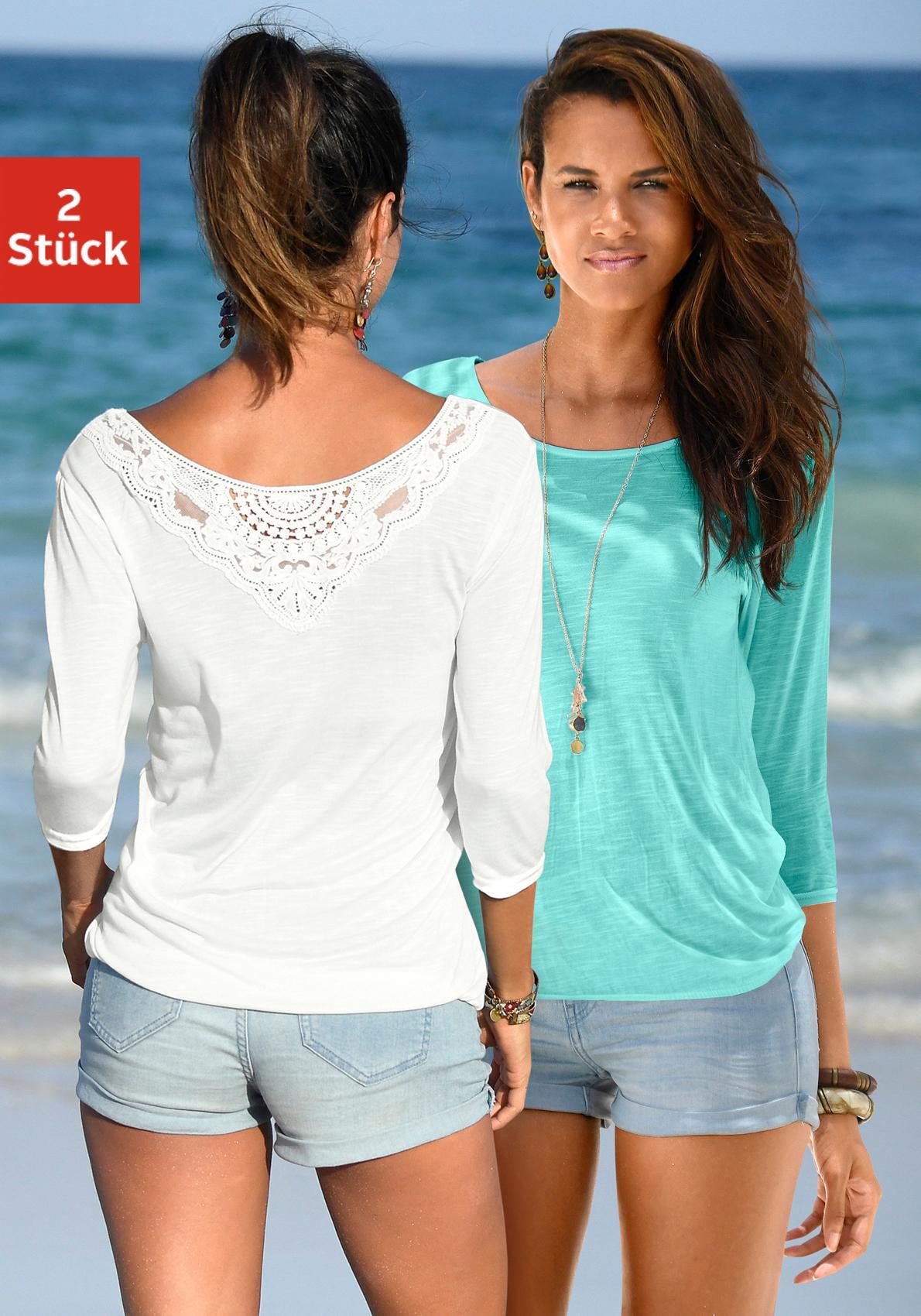 Beachtime 3/4-Arm-Shirt