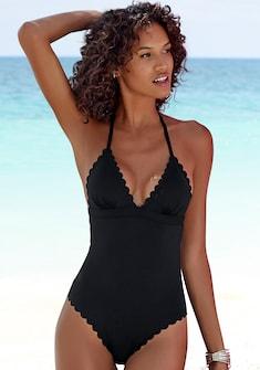 LASCANA Badeanzug »Scallop«