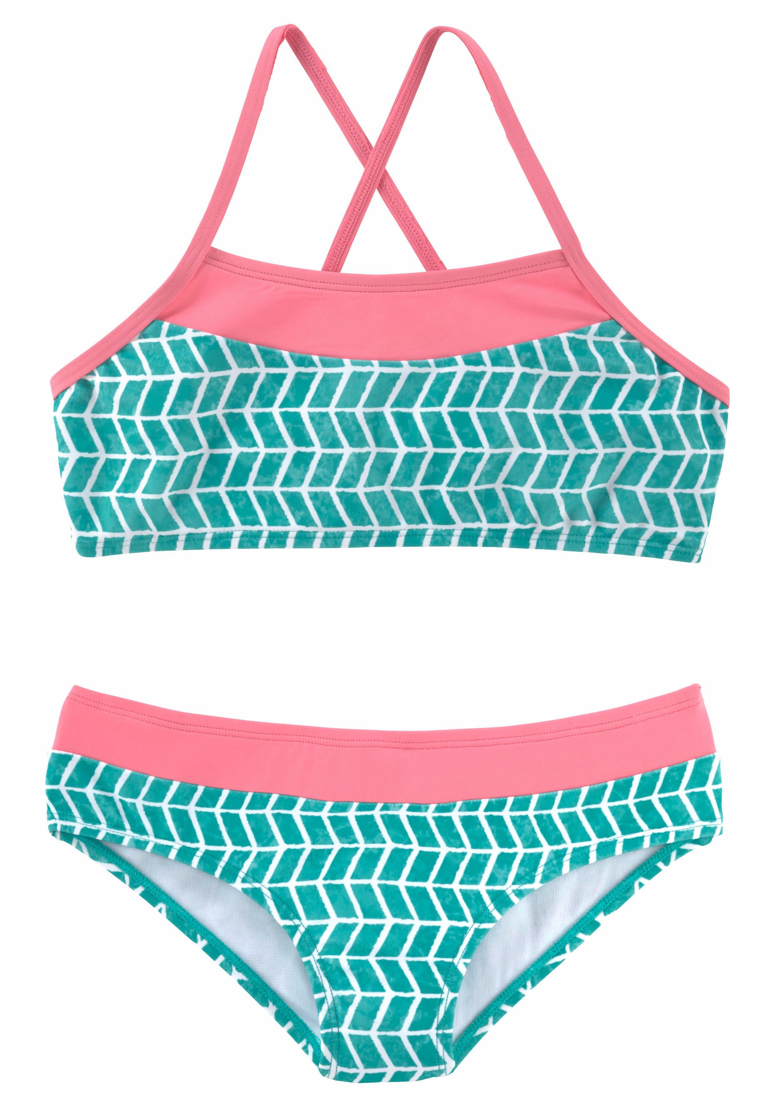 s.Oliver Beachwear Bustier-Bikini