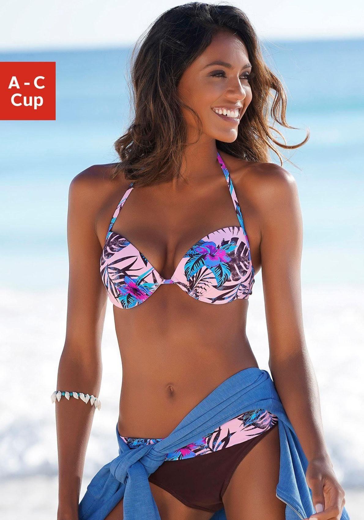 Venice Beach Push-Up-Bikini-Top »Marly«