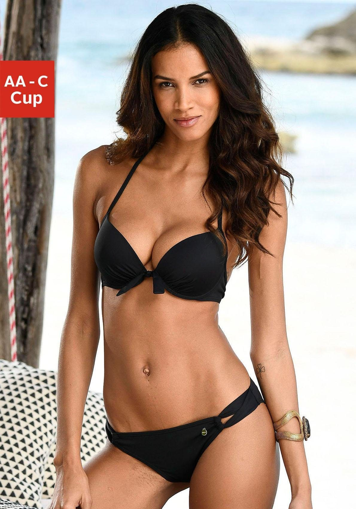 LASCANA Push-Up-Bikini-Top »Lola«