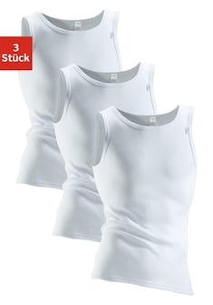 Clipper Exclusive Unterhemd, 3 Stück