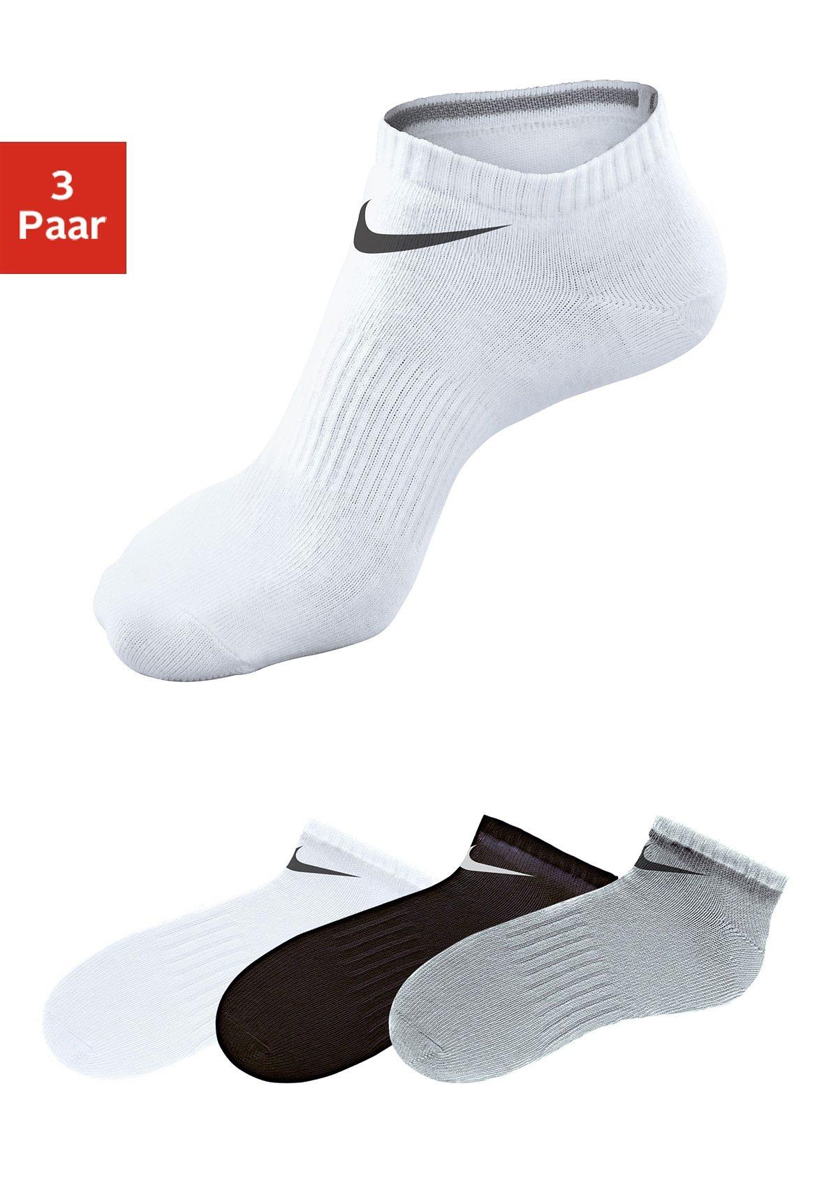 Nike Sneakersocken (3 Paar) mit Mittelfußgummi