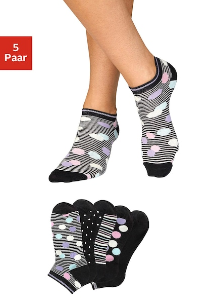 Bench. Sneakersocken (5 Paar)