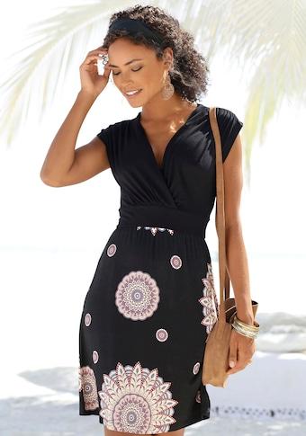 Beachtime Sommerkleid, mit Rückenausschnitt