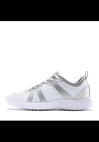 LASCANA Sneaker, ultraleicht mit Metallic-Einsätzen