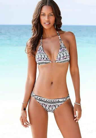 LASCANA Bikini-Hose »Belize«, mit Zierringen