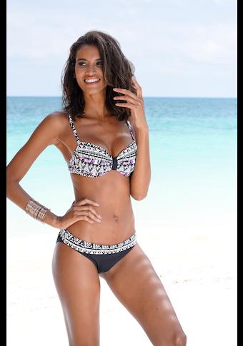 LASCANA Bikini-Hose »Belize«, mit Umschlagbund
