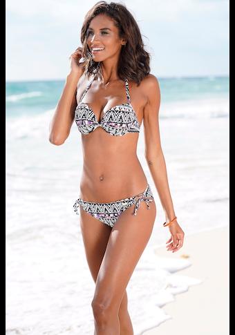 LASCANA Bikini-Hose »Belize«, mit seitlichen Bindebändern