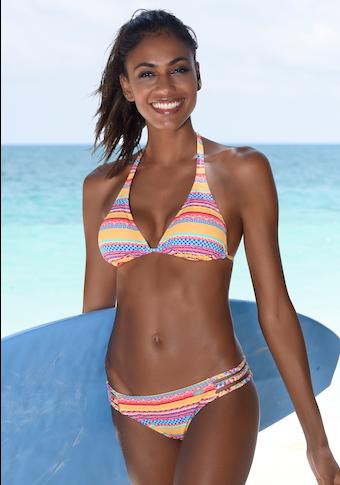 Buffalo Bikini-Hose »Lux«, mit geflochtenen Bändern