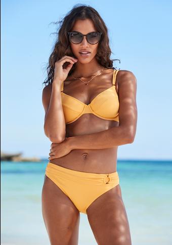 s.Oliver Beachwear Bügel-Bikini-Top »Rome«, in verschiedenen Unifarben