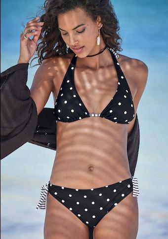 s.Oliver Beachwear Triangel-Bikini-Top »Audrey«, Im Punkte und Streifen Mix
