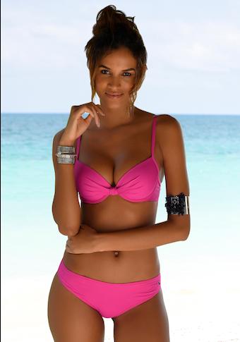 s.Oliver Bügel-Bikini-Top »Spain«, mit geraffter Mitte