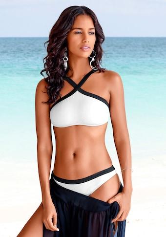 JETTE Bustier-Bikini, aus Strukturware