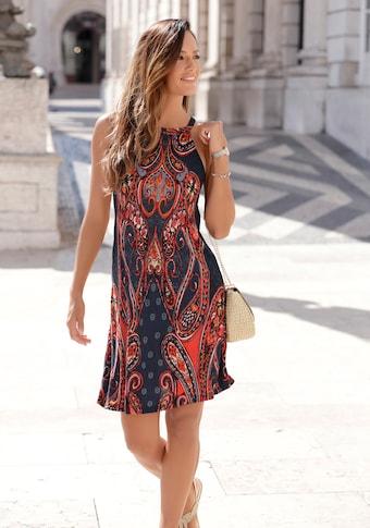 LASCANA Jerseykleid, mit Alloverprint