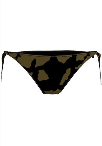 Calvin Klein Bikini-Hose, seitlich zum binden