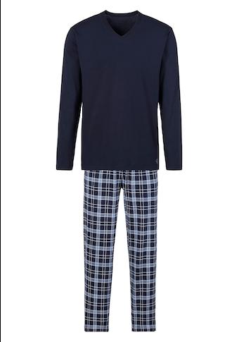 s.Oliver Pyjama, mit Karo-Hose
