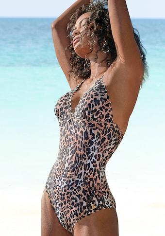 LASCANA Badeanzug »Lexa«, mit gelaserter Wellenkante