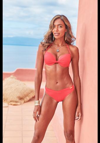 LASCANA Bikini-Hose »Rainbow Collection«, mit höherem Beinausschnitt