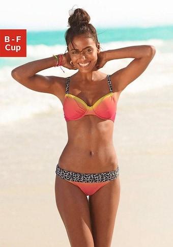 KangaROOS Bügel-Bikini, mit trendigen Details im Leoprint
