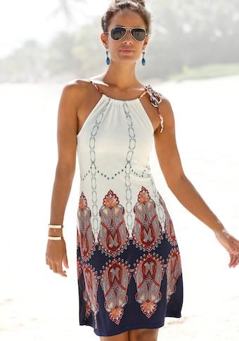 Beachtime Strandkleid, mit geflochtenen Trägern