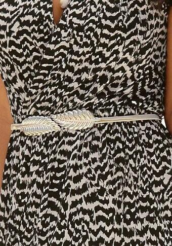 LASCANA Taillengürtel, mit moderner Federschließe und elastischem Band
