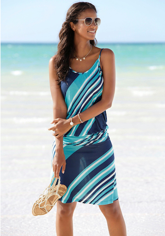 Beachtime Strandkleid, mit Streifendesign