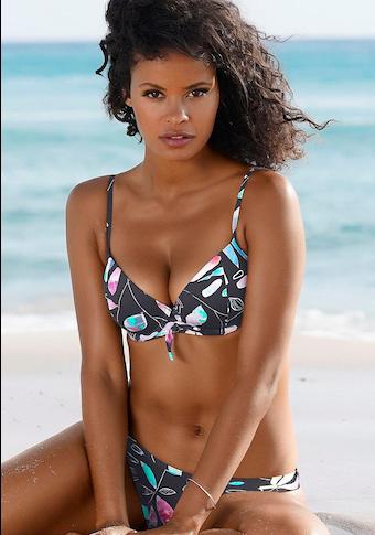 Sunseeker Push-Up-Bikini-Top »Leaves«