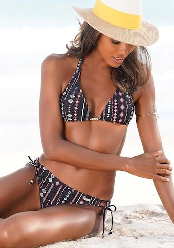 Buffalo Triangel-Bikini, mit Perlen-Accessoires