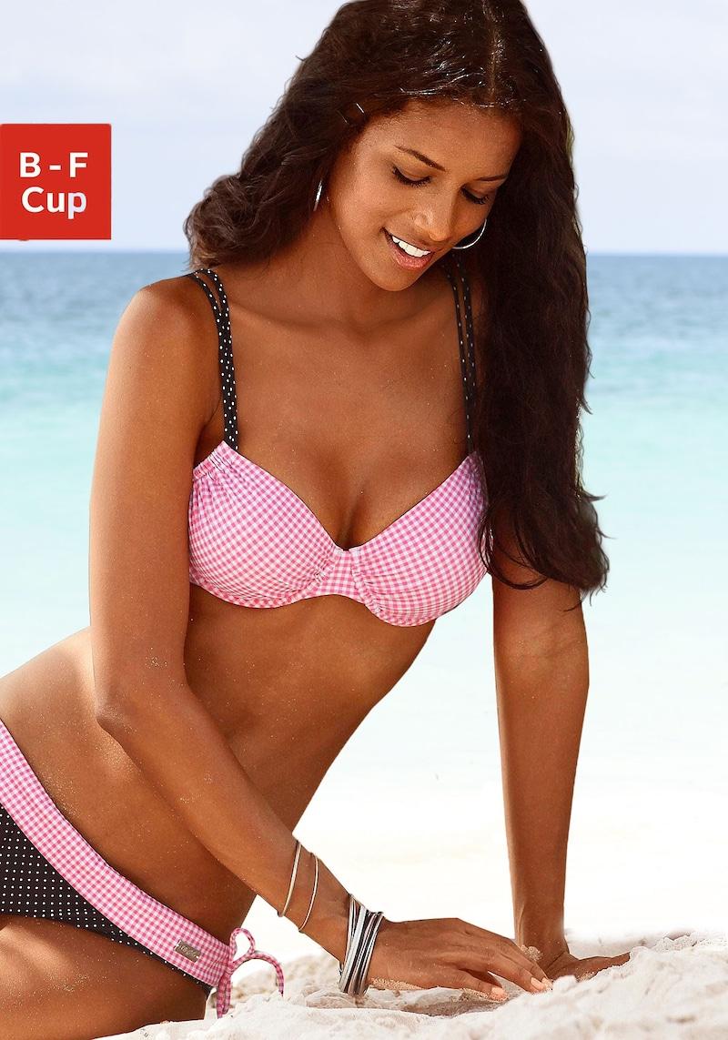 Buffalo Bügel-Bikini-Top »Florida«, im tollen Mustermix