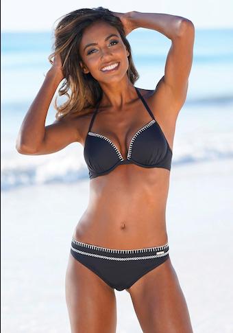 Sunseeker Bikini-Hose »Dainty«, mit modischer Häkelkante