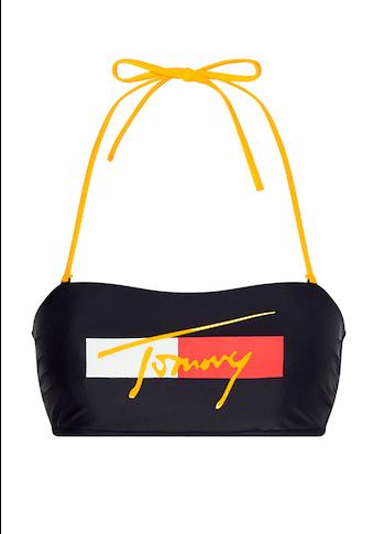 Tommy Hilfiger Bandeau-Bikini-Top, mit Tommy-Schriftzug