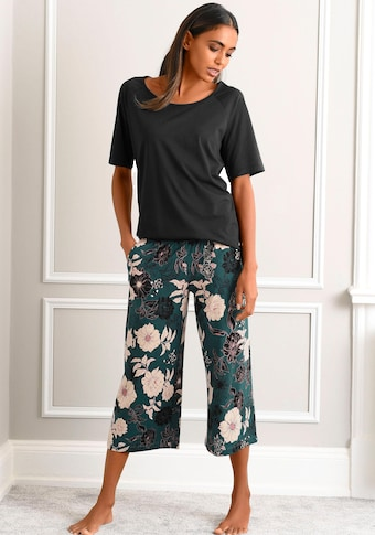 s.Oliver Bodywear Capri-Pyjama