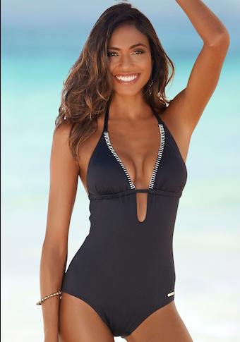 Sunseeker Badeanzug »Dainty«, mit Häkelkante
