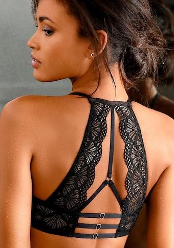 LASCANA Push-up-BH, mit dekorativem Rücken