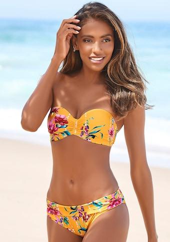 Sunseeker Bügel-Bandeau-Bikini-Top »Modern«, mit Blumenprint