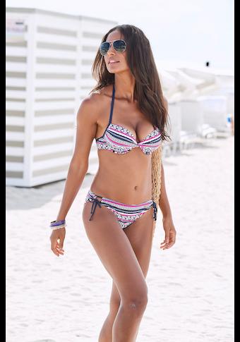 LASCANA Bikini-Hose »Wintu«, mit seitlichen Bindebändern