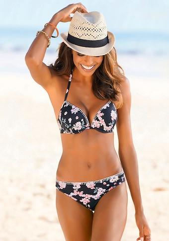 Sunseeker Bikini-Hose »Ditsy«, mit Häkelkante