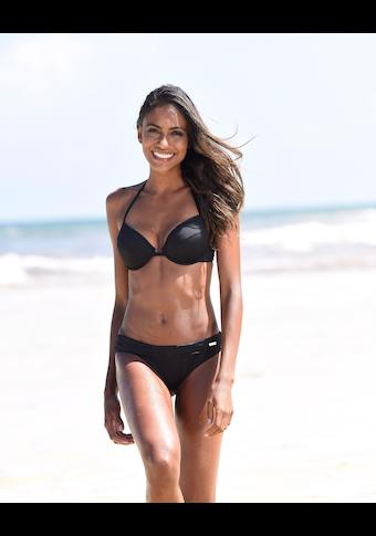 Bench. Bikini-Hose »Perfect«, Mit breitem Umschlagbund