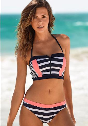 KangaROOS Bikini-Hose »Anita«, im coolen Blockstreifendesign