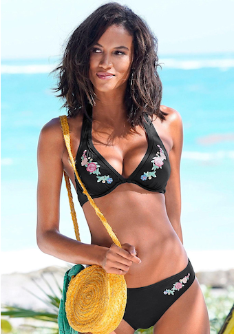 Sunseeker Bügel-Bikini, mit Stickerei