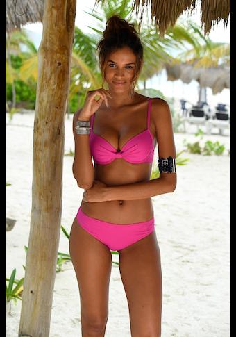s.Oliver Beachwear Bügel-Bikini-Top »Spain«, mit geraffter Mitte