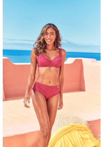 LASCANA Bikini-Hose »Rainbow Collection«, mit höherer Form